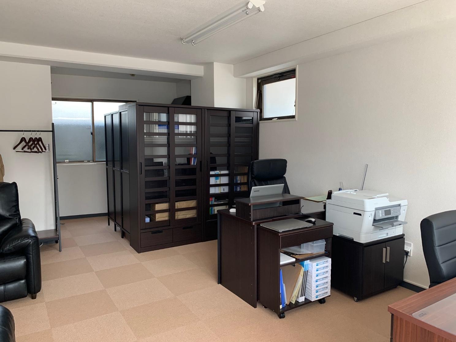 賃貸オフィスビル1F 来客を前提とした事務所づくり